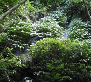 Unten beim Fluß Hotel Nandini Bali Jungle Resort & Spa
