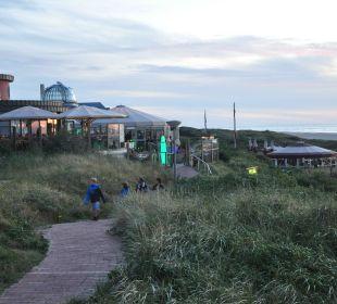 Strandbars unweit vom Hotel Strandhotel Kurhaus Juist