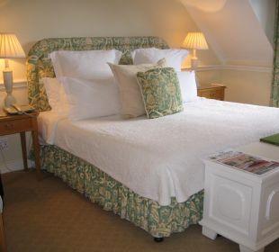Schlafbereich Zimmer 19 Hotel The Cellars-Hohenort