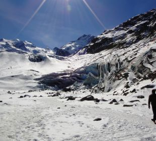 Morteratsch Glacier Hotel Reine Victoria by Laudinella