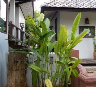 Familien Bungalow Eingangsbereich Hotel Baan Chai Thung