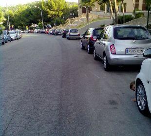 Straße vorm Haus Hotel Don Antonio