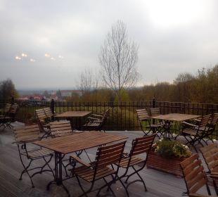Terrasse mit Ausblick Berghotel Ilsenburg