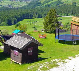 Kinderspielplatz ist der alte noch Gasthof Klausnerhof