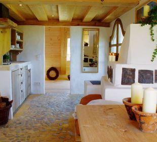 Ferienwohnung Taubenschlag Küche Hotel Hagerhof