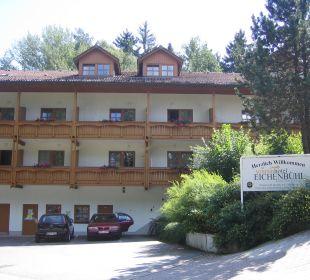 Hotelansicht von vorne Sonnenhotel Eichenbühl