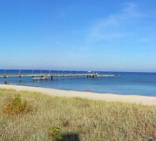 Strandpr. & Seebrücke, ca.150m Fußweg entfernt  Inselhotel Rügen B&B