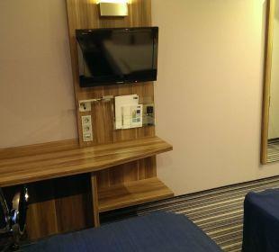 TV+Schreibtisch Hotel Holiday Inn Express Hamburg City Centre