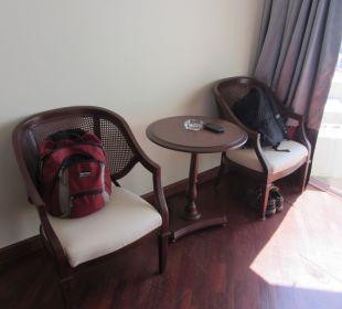 Sitzmöglichkeit Hotel Grand Jomtien Palace
