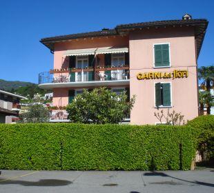 Hotel von der Strassenseite Hotel Garni dei Fiori