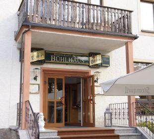 Eingang Restaurant Hotel Bühlhaus