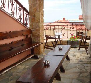 Dachterrasse Apollon Xenonas Apparthotel