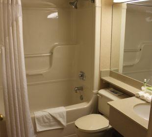 Blick ins Bad Hotel Holiday Inn Express Toronto Downtown