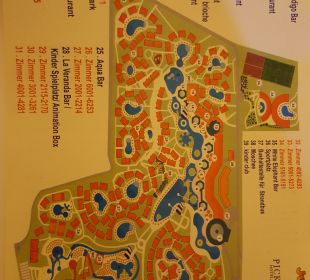 Plan der Anlage Jungle Aqua Park