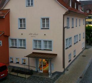 Außenansicht Hotel Alte Schule