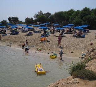 Kleine Badebucht Hotel Mimosa Beach