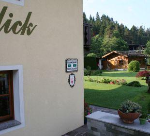 Gartenanlage Landhaus Gemsenblick