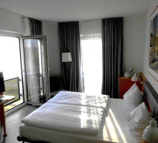 Blick in das Zimmer arcona Hotel am Havelufer