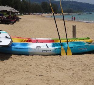 Feinsandig und leer ;-) La Flora Resort & Spa