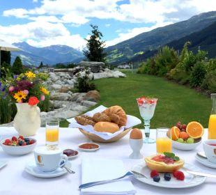Frühstück am See Aparthotel Stacherhof