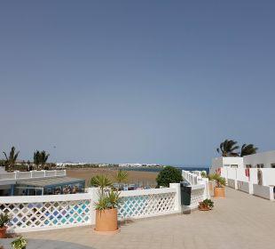 Blick Richtung Strand Hotel Las Costas