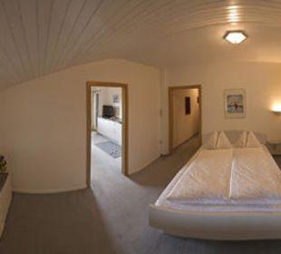 Blaues Appartment, Schlafzimmer Appartement & Weingut Linter