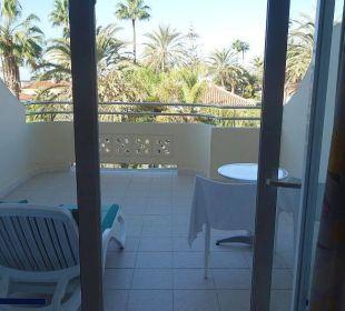 Kein Balkon, eher Terrasse IFA Catarina Hotel