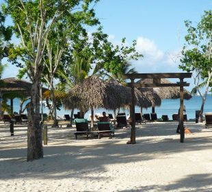 Eingang Strand Preferred adult only Dreams La Romana Resort & Spa