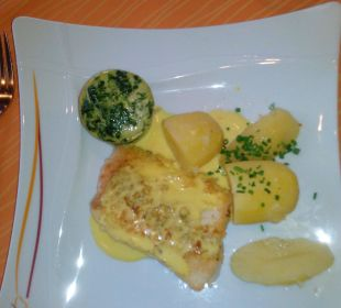 Leckeres Fischgericht Landhotel Talblick