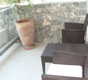 Balkon mit 8 m2 Kontokali Bay Resort & Spa