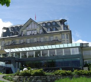 Ansicht vom Park Belvédère Strandhotel