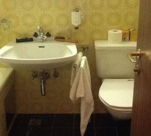 Badezimmer Hotel Karwendelhof