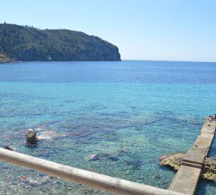 Blick auf den Steg vor dem Hotel Olimarotel Gran Camp de Mar