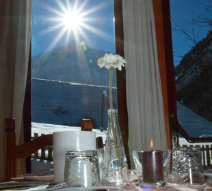 Frühstücksraum Hotel Landhaus Edelweiss