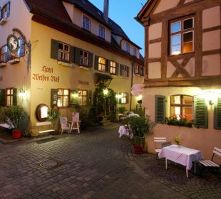 Hotel Weisses Ross bei Nacht Flair Hotel Weisses Roß
