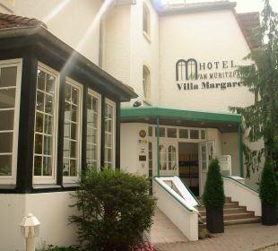 Außenansicht Ringhotel Villa Margarete