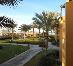 Ausblick nach rechts Stella Di Mare Beach Resort & Spa Makadi Bay