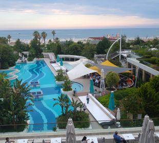 Ausblick von Haus 3 Sensimar Side Resort & Spa