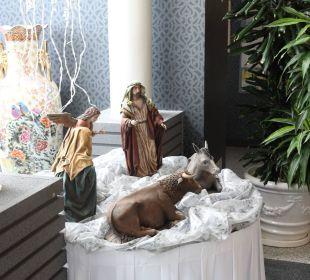 Weihnachtsdekoration Adrián Hoteles Colón Guanahaní