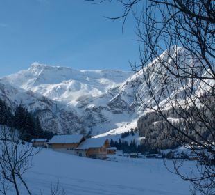 Morgentlicher Ausblick aus Hotel  Hotel Alpina