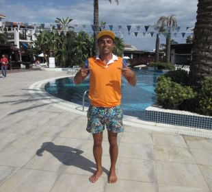 Bobo der coole Animateur Sunis Hotel Evren Beach Resort & Spa