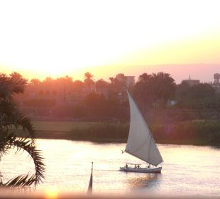 Romantik  in der Dämmerung Achti Resort Luxor