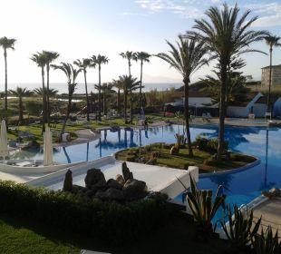 Blick auf den Pool Aparthotel Esperanza Park