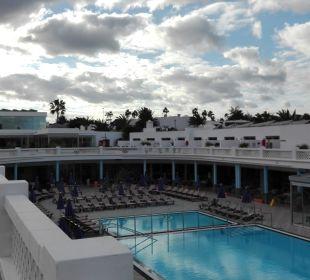 Oben ringsum Zimmer  Hotel Las Costas
