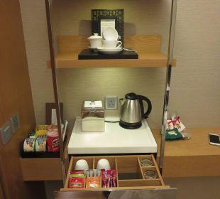 Tee / Kaffee / Minibar Renaissance Harbour View Hotel Hong Kong