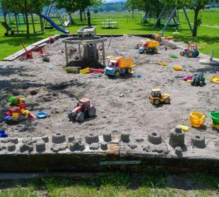 Unser Sandkasten Bio-Bauernhof Zacherlhof