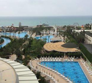 Ausblick von Zimmer 7076 Hotel Delphin Imperial