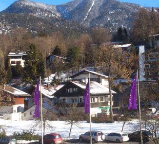 Viele Parkplätze Mercure Hotel Garmisch Partenkirchen