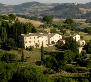 Borgo Belfiore aus der Entfernung Apartments Borgo Belfiore
