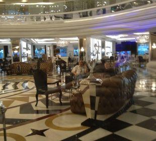 Pompöse Lobby Hotel Delphin Imperial